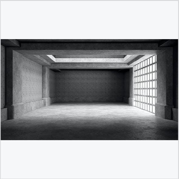 Empty room interior 03