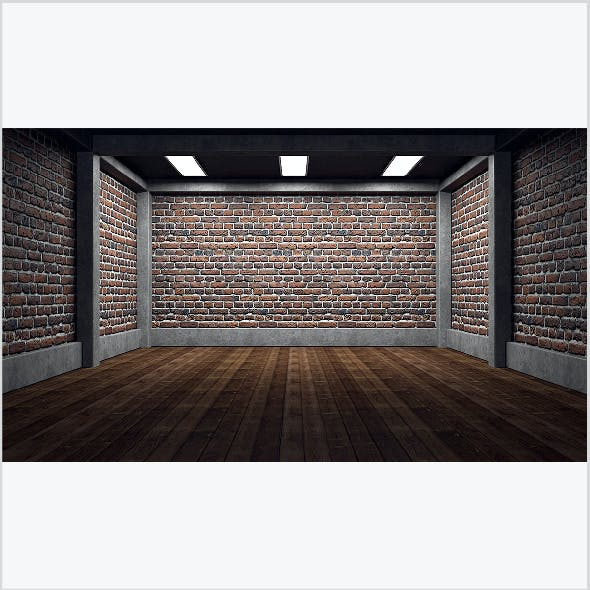 Empty room interior 05