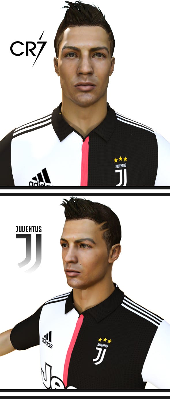CR7 Cristiano Ronaldo - 3DOcean Item for Sale