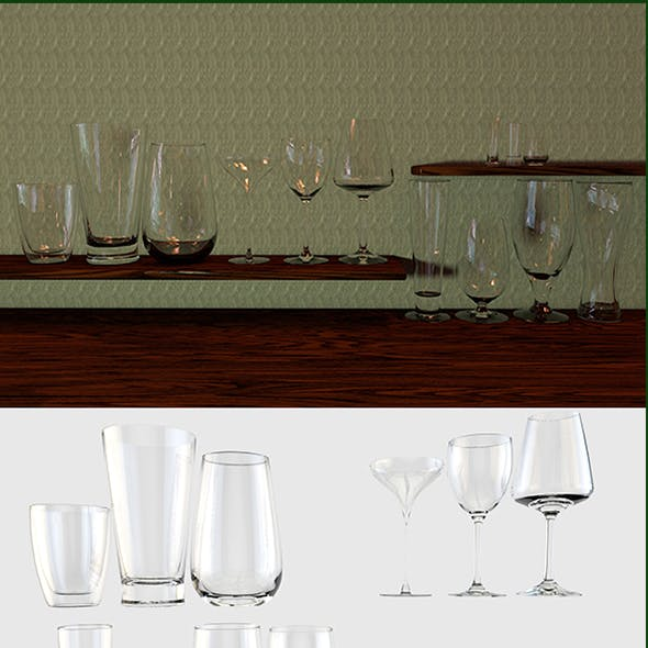 Glass colection