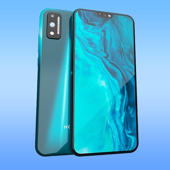 Honor 9x lite green phone