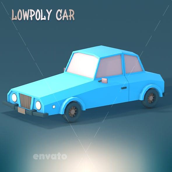 Stylish Lowpoly Car
