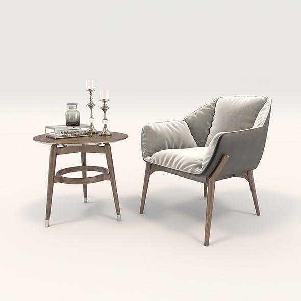 Modern Armchair Design Set 2
