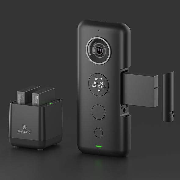 Insta360 ONE X - 3DOcean Item for Sale
