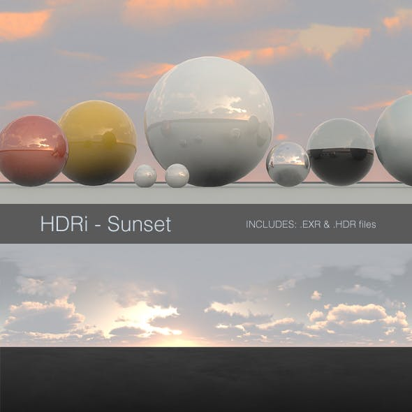 HDRi - Sunset