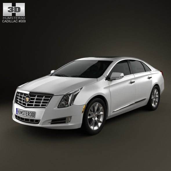 Cadillac XTS 2013 - 3DOcean Item for Sale