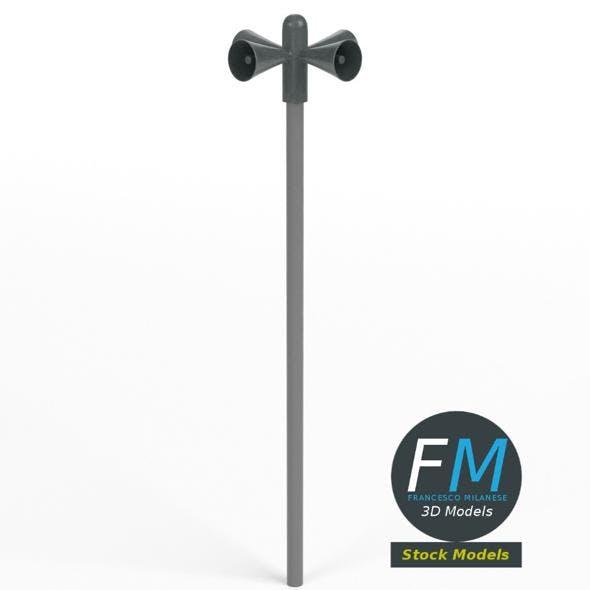 Civil defense siren alarm - 3DOcean Item for Sale