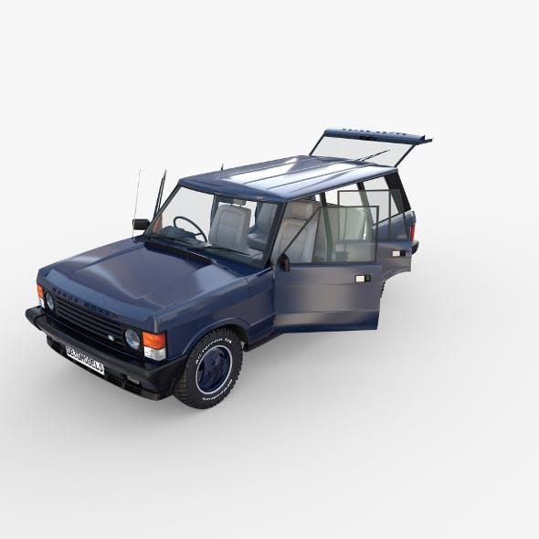 Range Rover Classic with interior RHD v2