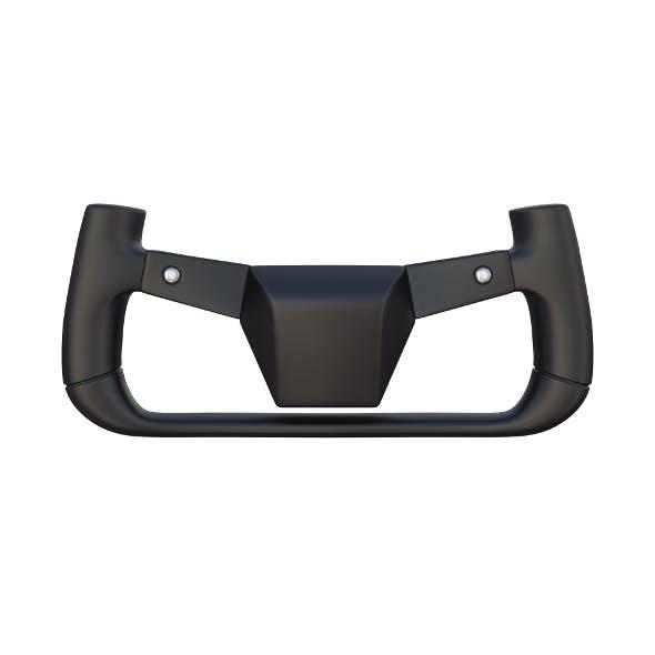Tesla Cybertruck Steering Wheel - 3DOcean Item for Sale