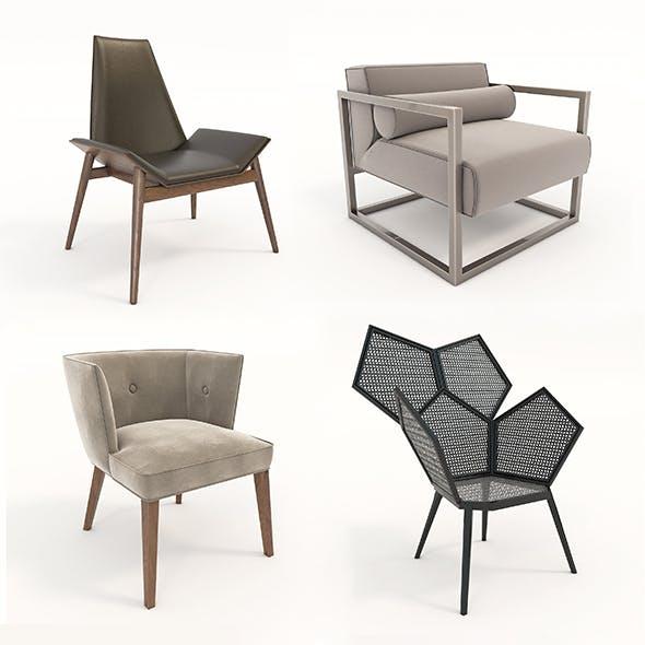 Modern Coffee Chair - 3DOcean Item for Sale