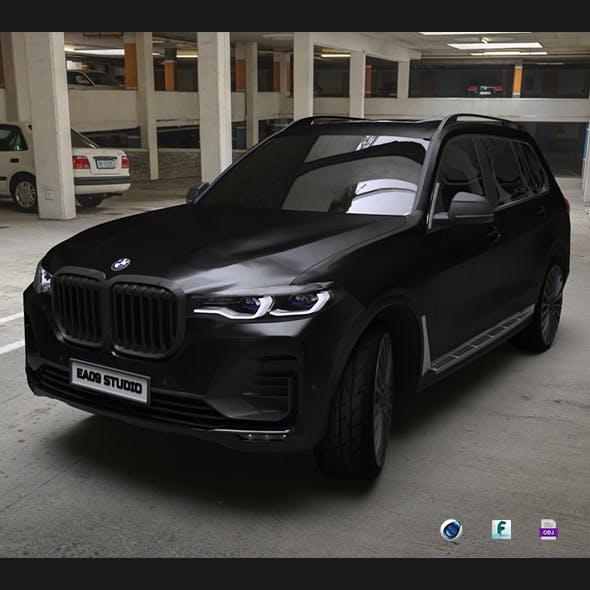 BMW X7 BLACK EDITION - 3DOcean Item for Sale