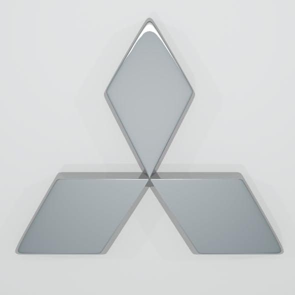 Mitsubishi Logo - 3DOcean Item for Sale