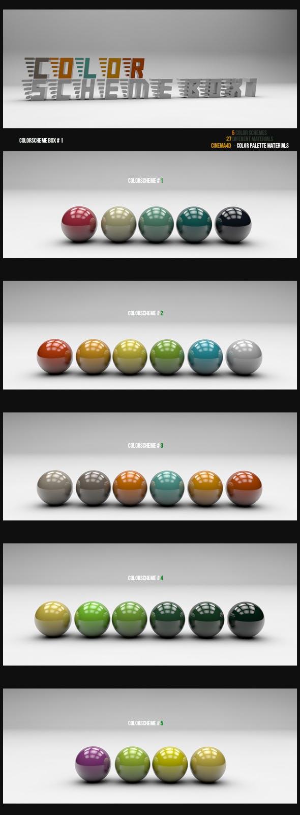 Color Scheme Box #1 - 3DOcean Item for Sale