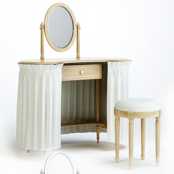 3d model of chair and table Olga. Pellegatta