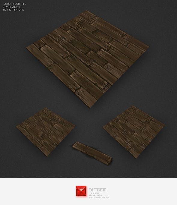 Low Poly Floor Boards - 3DOcean Item for Sale