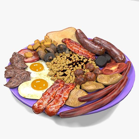 Irish Breakfast Food