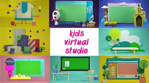Kids Virtual Studio - 3DOcean Item for Sale