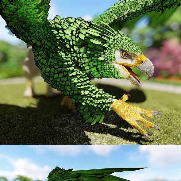 Griffin Animal 3D Model