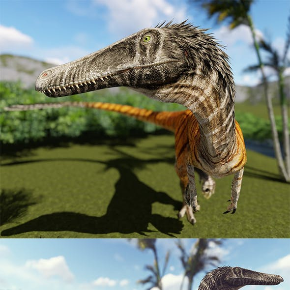austroraptor dinosaur game model