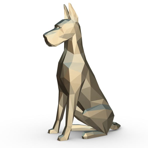 great dane figure