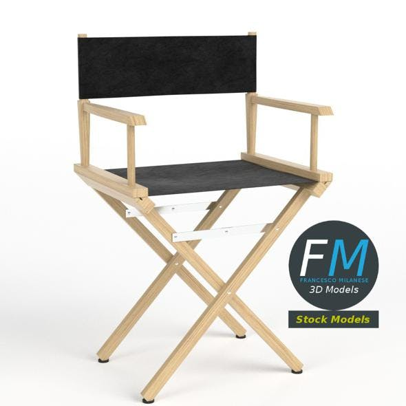 Director chair - 3DOcean Item for Sale