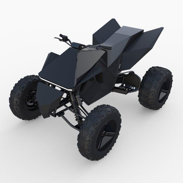 Tesla Cyberquad ATV Black