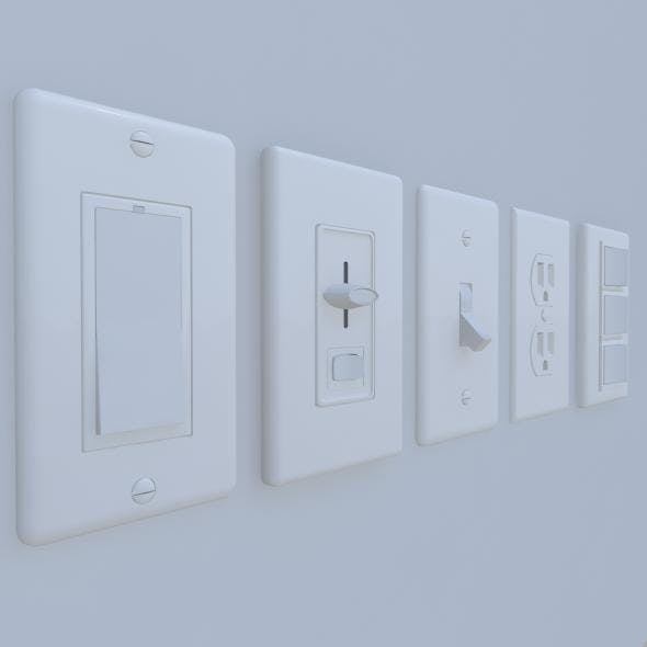 Wall Switches and Outlet Bundle