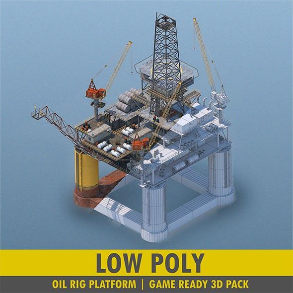 Oil Rig Platform - Pack - 3DOcean Item for Sale