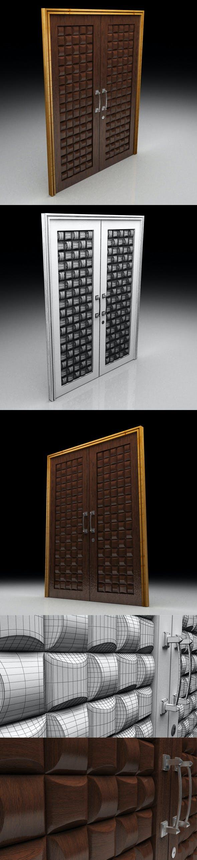 Door_8080_P_102 - 3DOcean Item for Sale