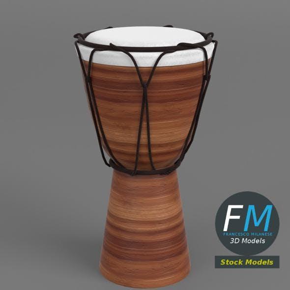 Djembe bongo drum - 3DOcean Item for Sale