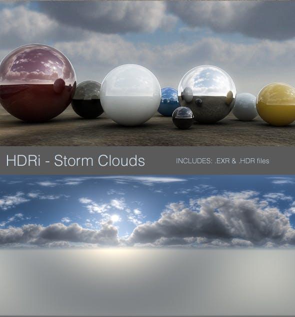 HDRi - Storm Clouds - 3DOcean Item for Sale