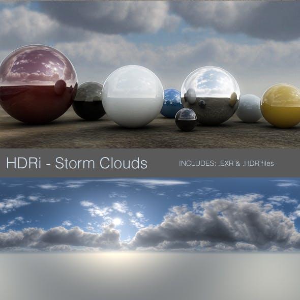 HDRi - Storm Clouds