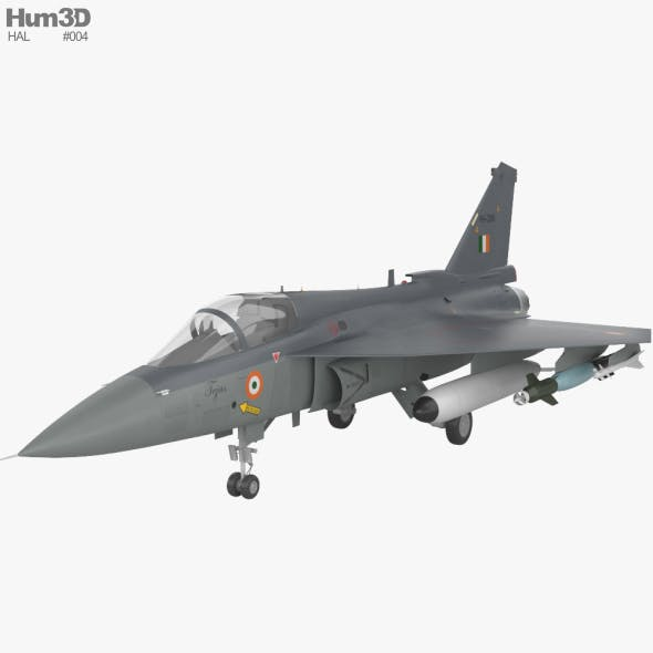 HAL Tejas - 3DOcean Item for Sale