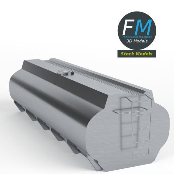 Gasoline tanker - 3DOcean Item for Sale