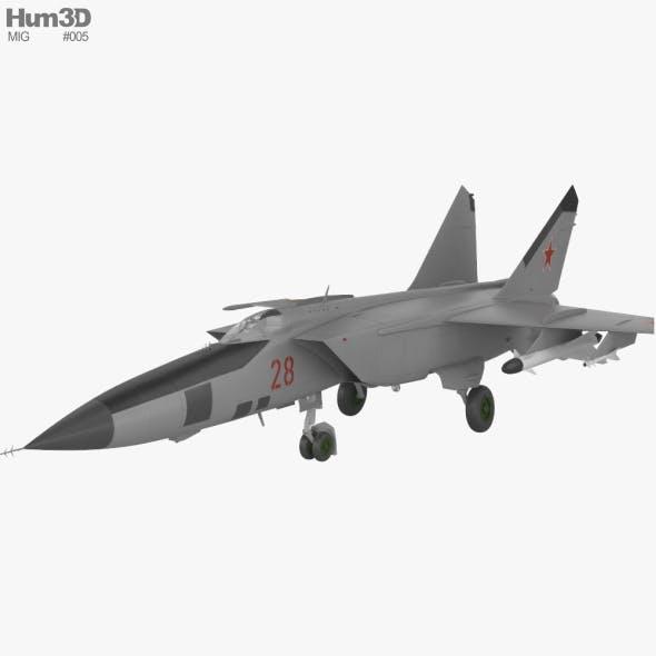 Mikoyan-Gurevich MiG-25 - 3DOcean Item for Sale