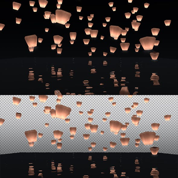 Lighted baloon