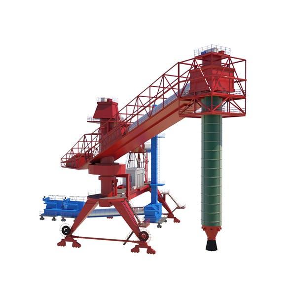 Dockside cargo crane