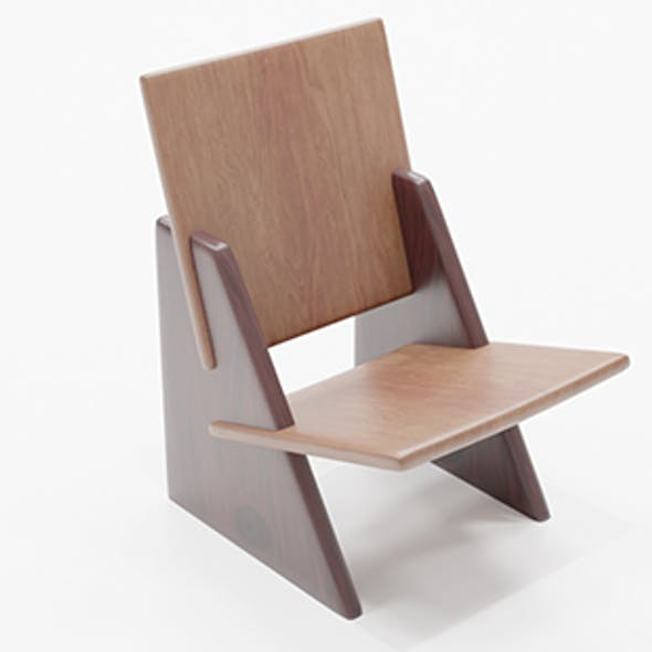 Armchair wooden chair