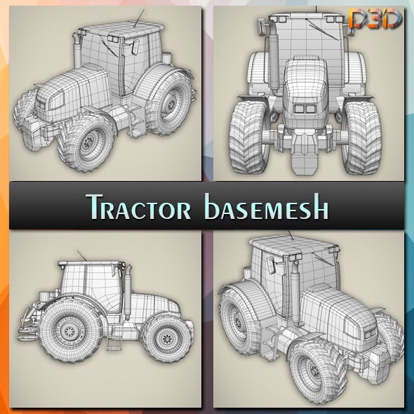 Tractor basemesh