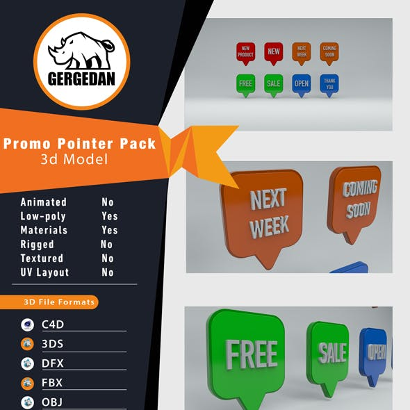 Promo Pointer Pack