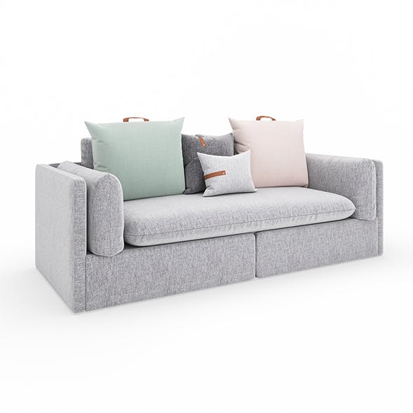 Bank 80 Sofa - 3DOcean Item for Sale