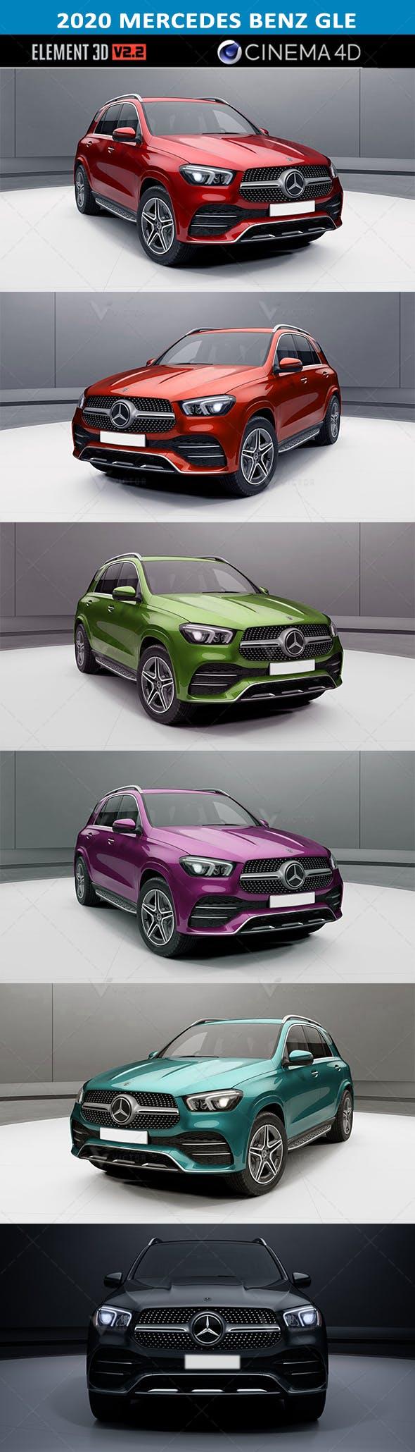 ELEMENT 3D V2 2020 Mercedes Benz GLE. (All colors) - 3DOcean Item for Sale