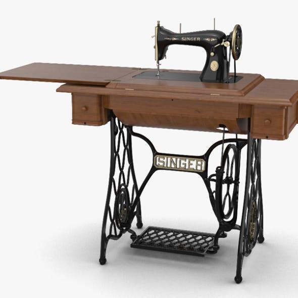 Singer Sewing Machine - 3DOcean Item for Sale