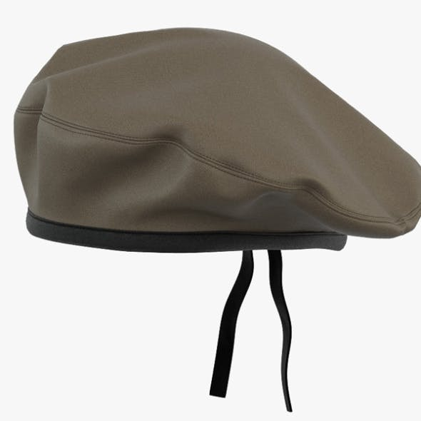 Military Beret - 3DOcean Item for Sale