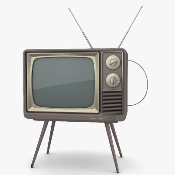 Retro TV - 3DOcean Item for Sale