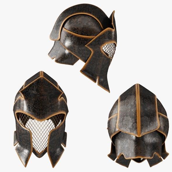 Fantasy helmet (LowPoly)