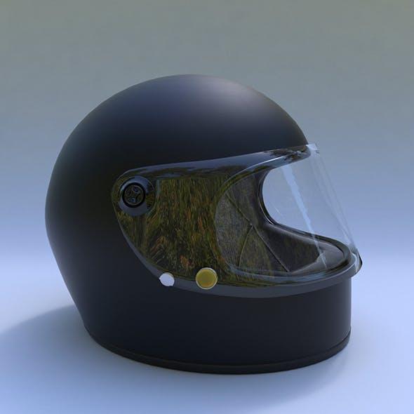 Motorcycle Helmet - 3DOcean Item for Sale