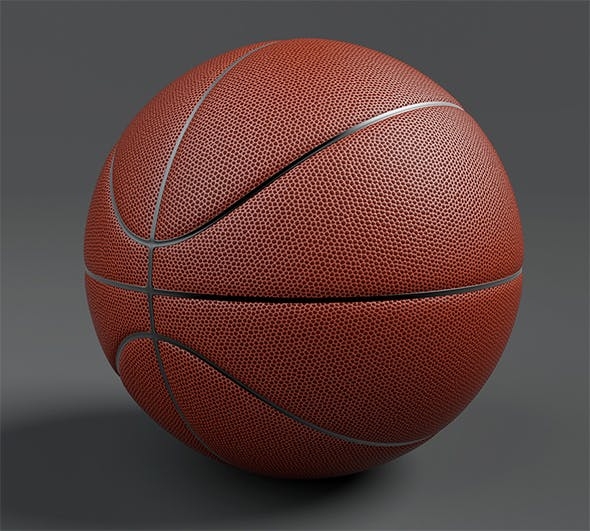 Basketball 3d Model - 3DOcean Item for Sale