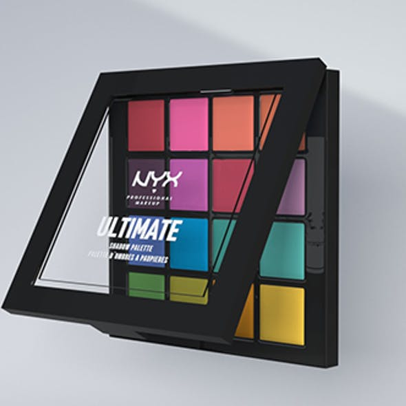 Palette NYX cosmetics 3D model