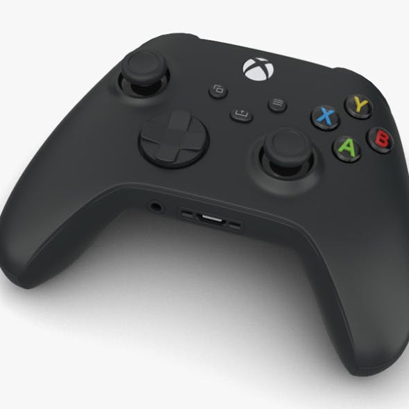 Microsoft Xbox Series X Controller - 3DOcean Item for Sale